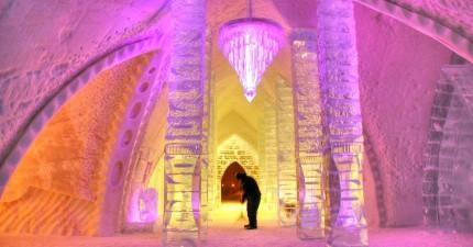 8間每個喜歡《冰雪奇緣》的人都一定要見識看看的冰雪旅館!