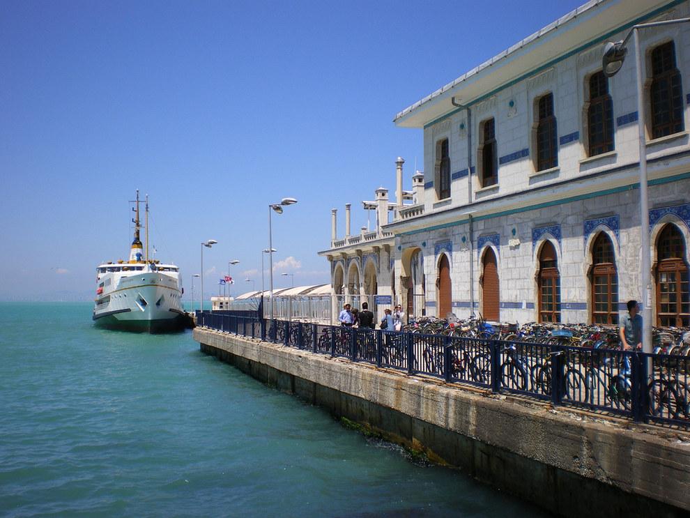 37.南端的馬爾馬拉內海,Büyükada島。