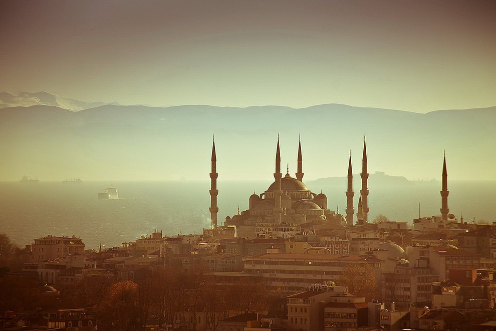42. 一生一定要體驗一次伊斯坦堡的美。