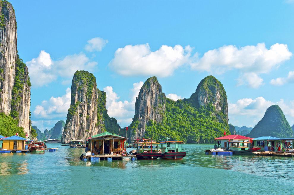 越南下龍灣(Vietnam's Ha Long Bay)