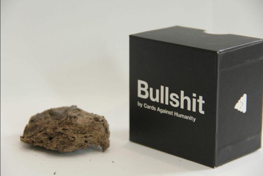 3萬人搶購了這個名為「Bullshit」的產品,就為了送給他們最不喜歡的人...