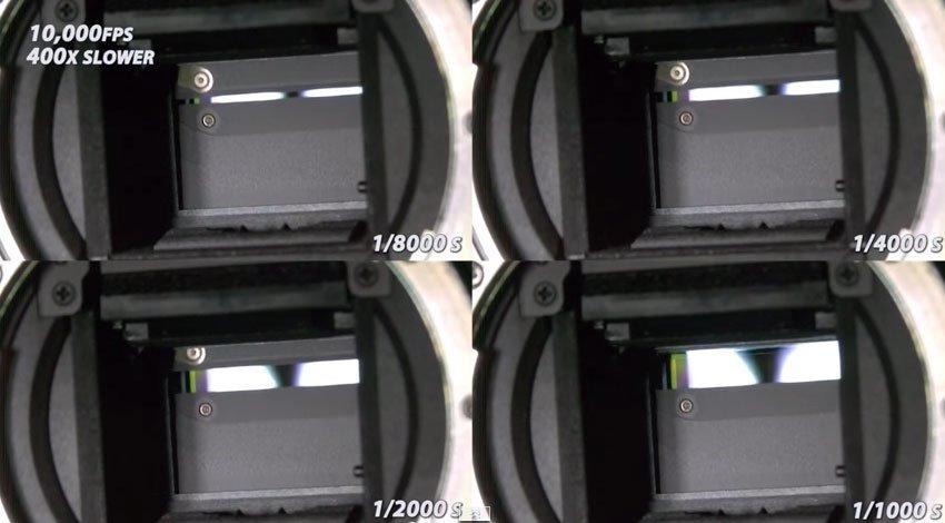 當你把單眼相機的快門放慢400倍時,你終於就會了解為什麼這麼貴。
