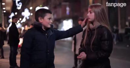小男孩們被要求要打小女孩一巴掌,他們的反應會給全世界男人上最重要的一課。