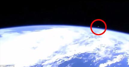 幽浮獵人在國際太空站驚見幽浮蹤跡,卻被阻斷訊號15秒湮滅證據?!