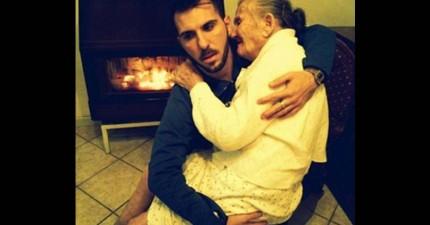 孫子將祖母抱起來的畫面雖然簡單,但背後的意義可能會讓你決定要改變生活方式。