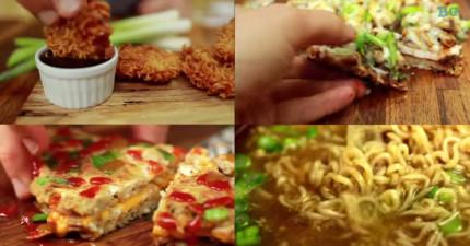 4個終極泡麵創意吃法,讓便宜的泡麵瞬間變成你奢華的料理!