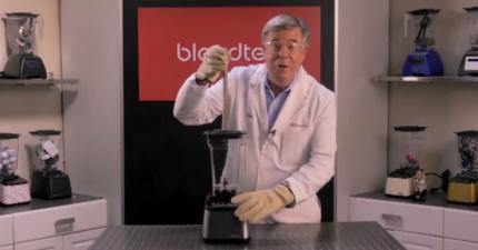 如果把一堆磁鐵丟進強力果汁機,結果真的很瘋狂!