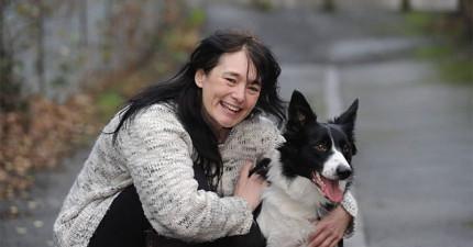 她的狗狗一直不斷地抓她的胸部,沒想到這竟然救了她的命!