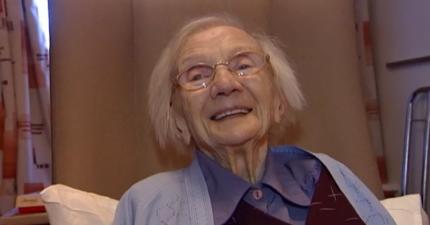 109歲老奶奶找到了長命百歲的方法,但男人聽了可能會很不開心...