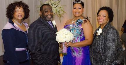 因為在40歲前一直結不了婚,於是她決定乾脆跟「自己」結婚...