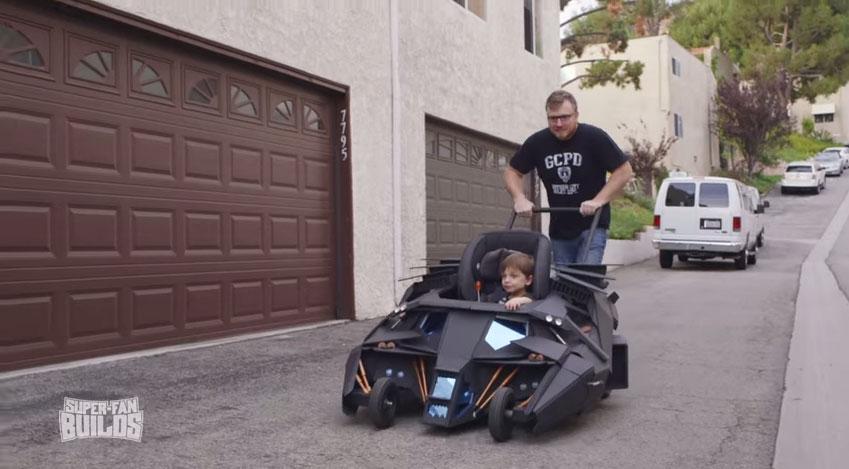 蝙蝠嬰兒車2
