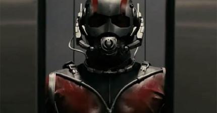 漫威最新超級英雄《螞蟻人》預告片,真的小到只有螞蟻才看得到!