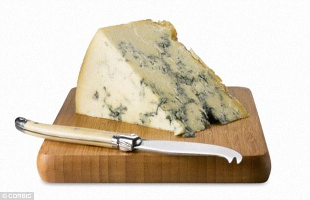1. 蓝纹乳酪( Blue Cheese )