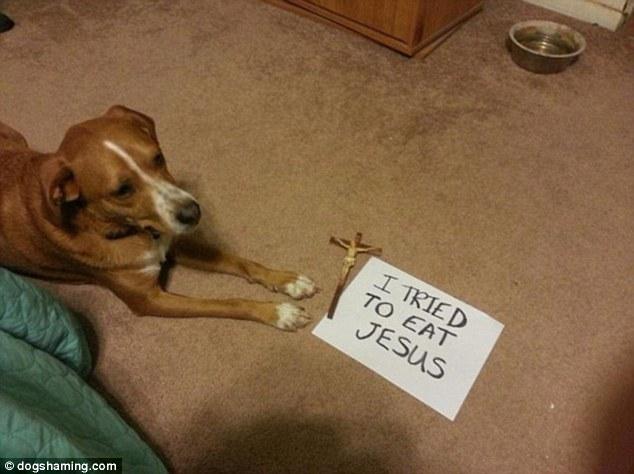 3. 我差點把耶穌吃掉了。