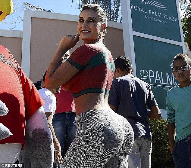 這個女人為了贏得美臀小姐去填充她的大腿,駭人的後果可能會讓你吃不下飯...