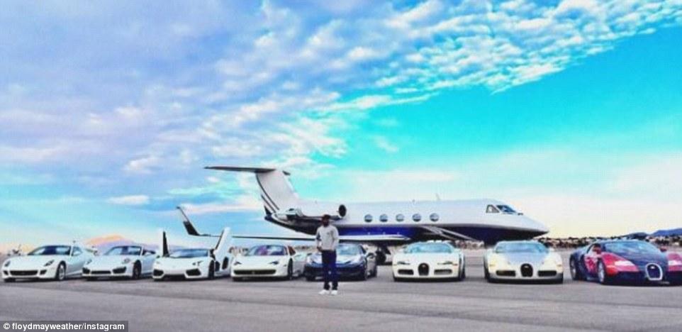 世界賺最多錢運動員展示他高達16億的「玩具」。看看什麼才叫做錢多到花不完!