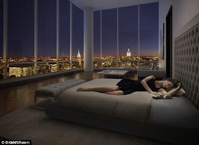 神祕人士破紀錄買下31億台幣的豪宅頂樓,內部奢華配備讓人看了呼吸超急促!