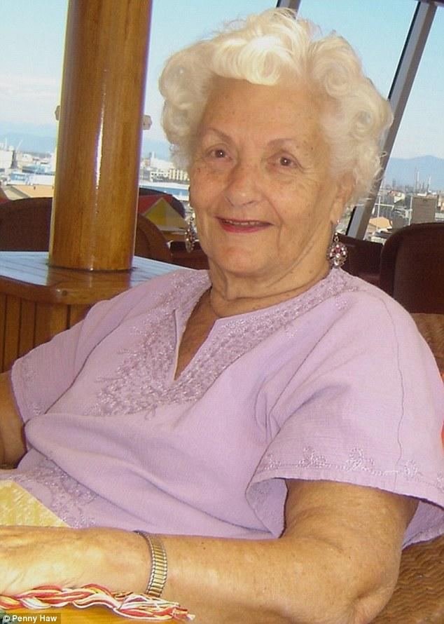 因為老伴過世前的一句話,87歲的老奶奶從此每年花百萬移民進一艘豪華郵輪。