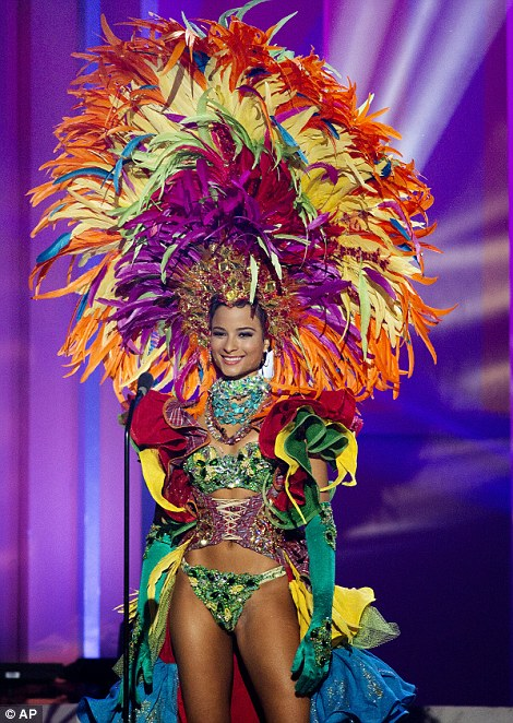 Fennell in national costume