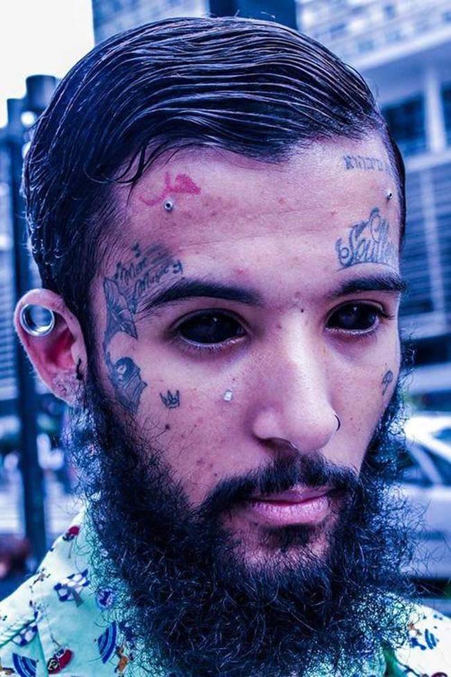 18個會讓人不敢直視超過1秒的瘋狂眼珠刺青。