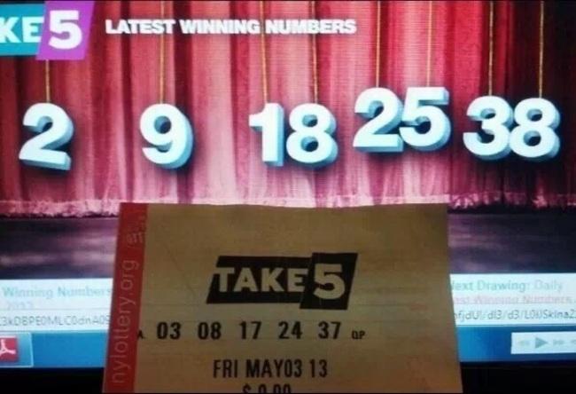 25.簽彩券總是沒有中?不,想一想,你已經比這個傢伙還要幸運了。