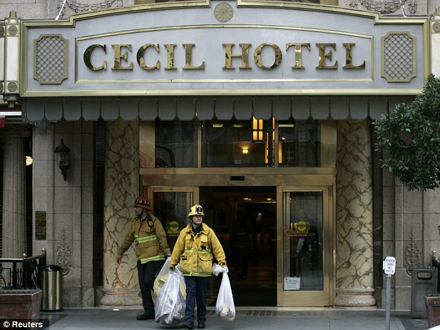 Luxury: The Cecil Hotel is a two-star hotel in downtown Los Angeles where Elisa Lam was staying during her visit to the city