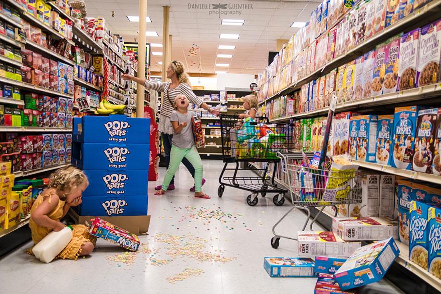 超市就是父母的末日。