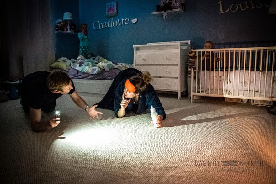 该如何把孩子都送上床,自己溜出去玩呢?