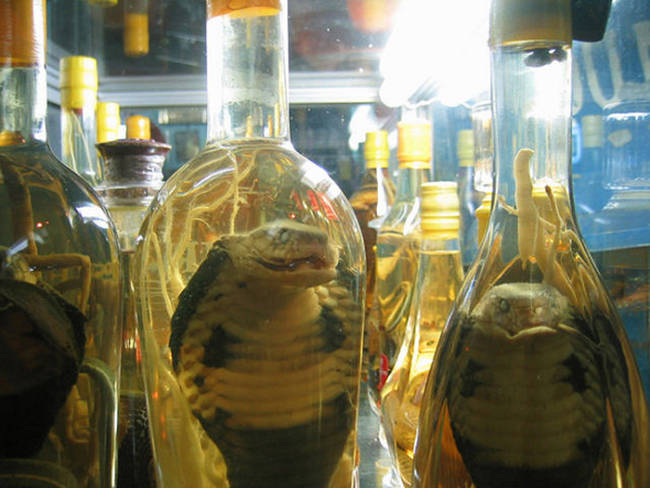 29.) Snake Wine