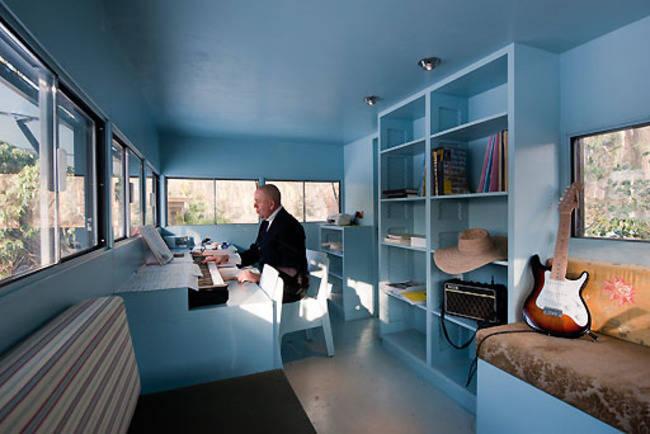 <p>Inside, it's sleek, modern, and full of natural light. </p>