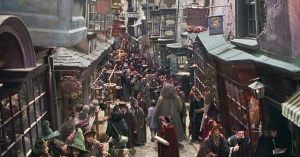 17個長得跟《哈利波特》中的「活米村」一樣的真實城鎮。