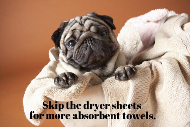 1. 烘衣服時不用烘衣紙,使用吸水毛巾。