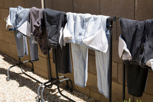 And wash dark clothes inside out to keep them from fading, too.