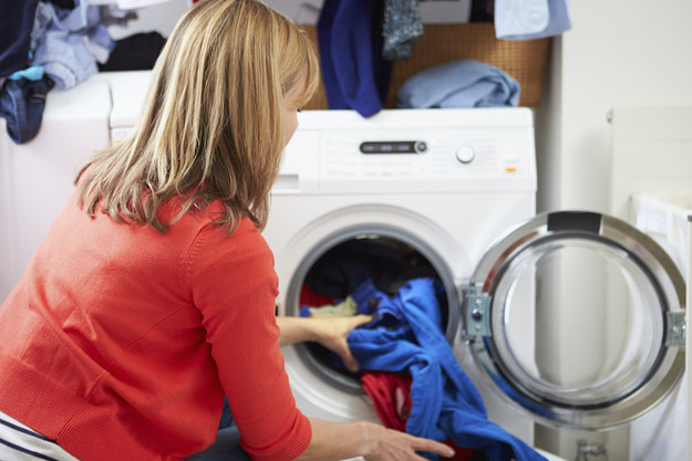 To prevent color fading, toss your clothes in the wash with a teaspoon of salt.