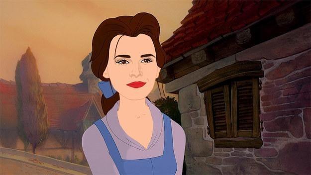 迪士尼剛剛宣布真人版《美女與野獸》電影。我相信你會超愛他們挑的女主角!