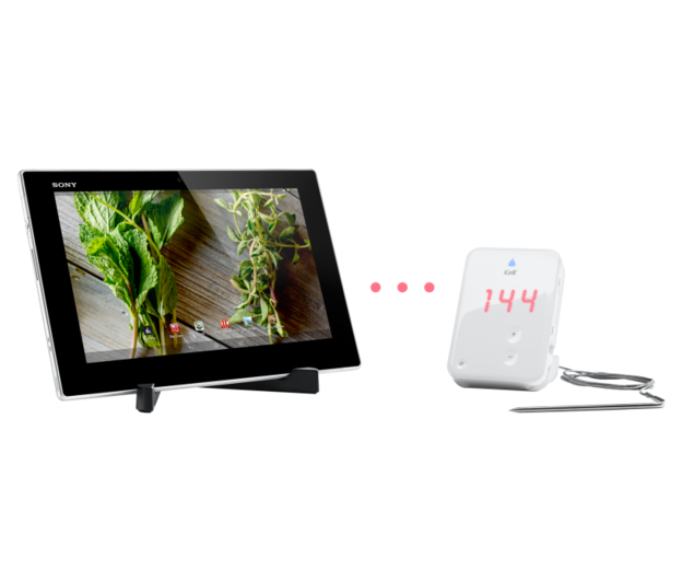 Xperia = the tablet made specifically for your kitchen.