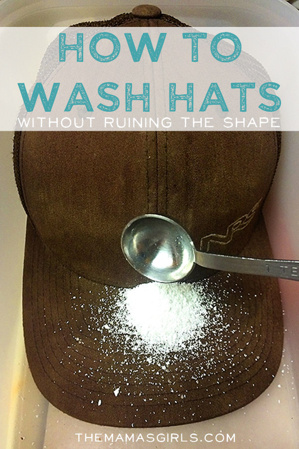 Learn how to wash your filthy baseball cap.
