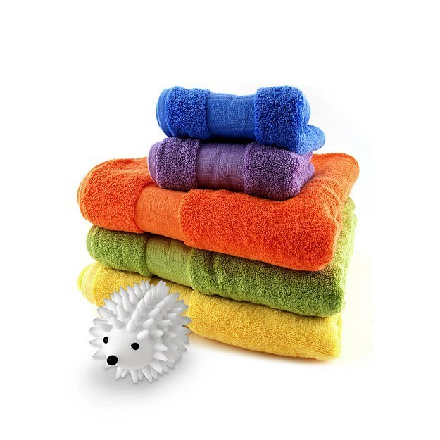 Skip the dryer sheets — use long-lasting dryer balls instead.