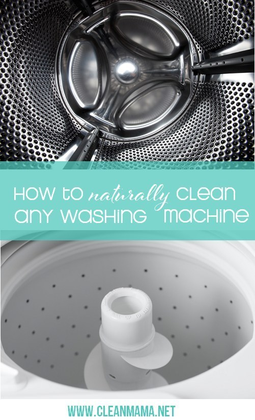 Clean your washing machine on the reg.