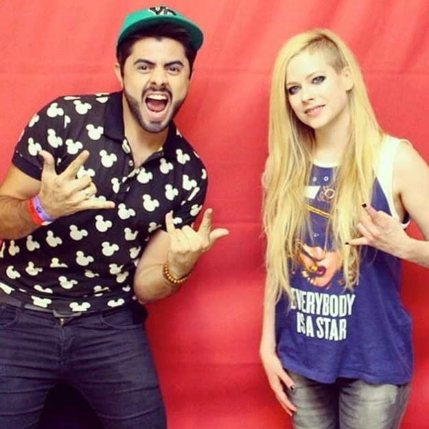 And of course, Avril Lavigne.
