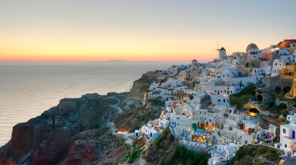希臘的聖托里尼 (Santorini)