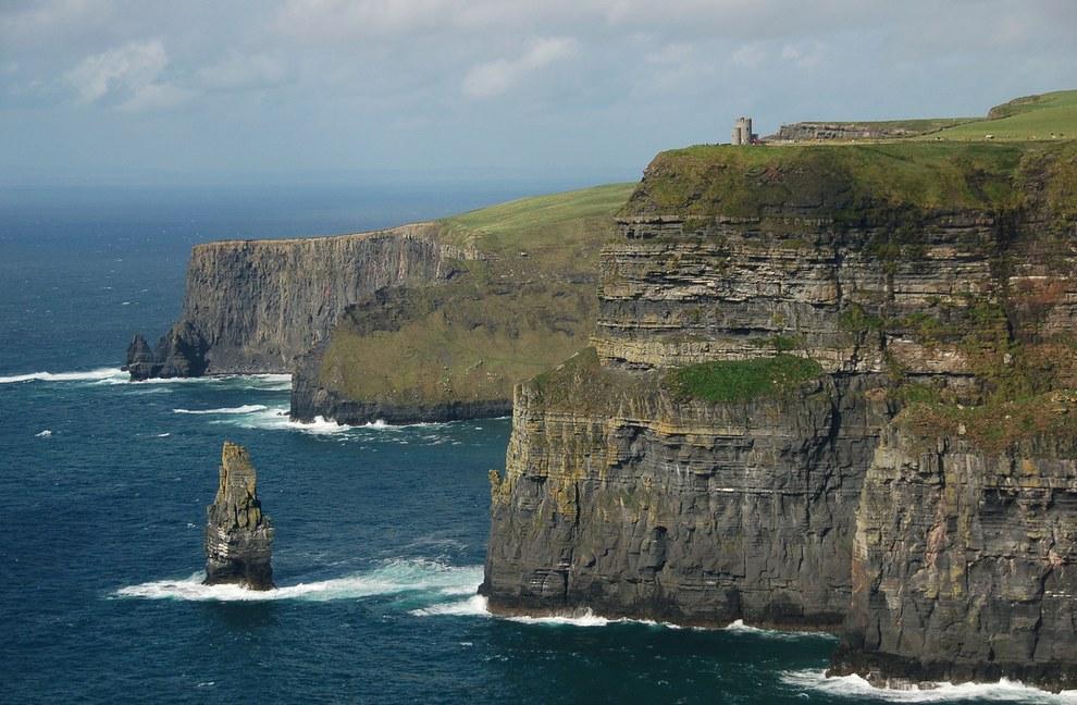 愛爾蘭的莫赫懸崖 (Cliffs of Moher)