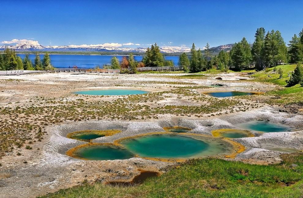 美國的黃石國家公園 (Yellowstone National Park)