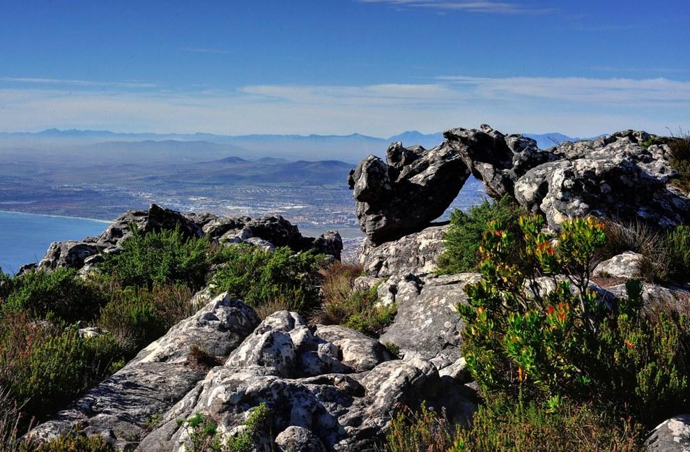 南非的桌山 (Table Mountain)