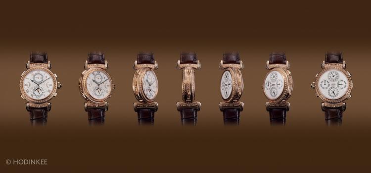 想知道為什麼這支獨一無二的錶要8000萬?近看上面的雕工你就會知道了。