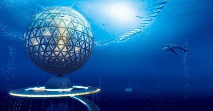 不用再買房子了,最快2035年人類就可以活在這個超科幻的海底夢幻都市了。