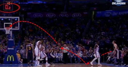 NBA球員花了幾年練成這招最瘋狂的投籃絕招 身邊對友也嚇壞