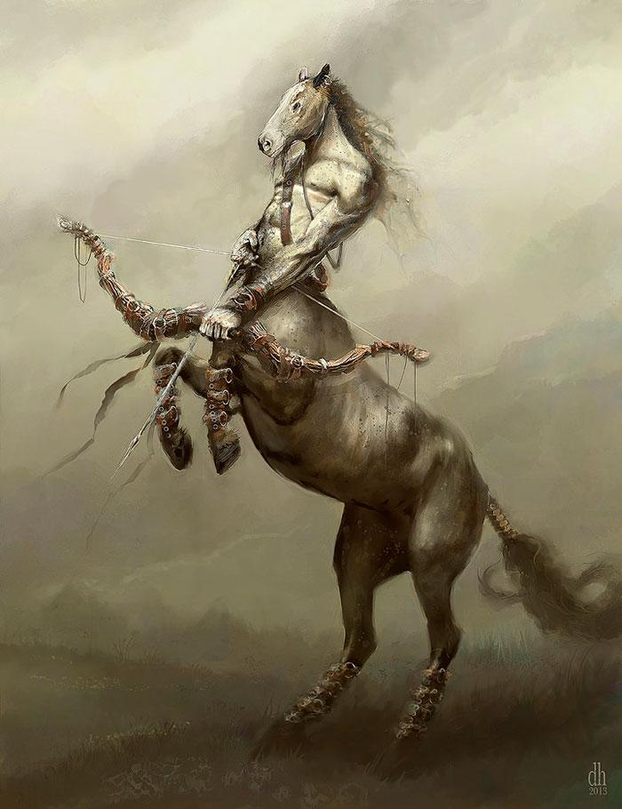 藝術家設計「12星座魔獸化」 天蠍座帥到讓人想改生日了!