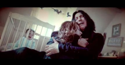 有人剪接《哈利波特》電影讓主角變成石內卜。結果會讓你哭得比在看鐵達尼時還兇!