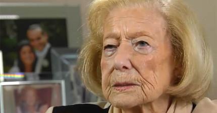 這位從二戰驚險生還的老奶奶至今每天都會擦很多香水,這當中的故事太令人心痛無言了。